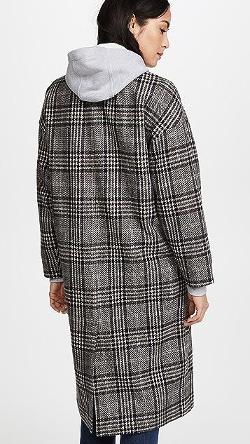 Madewell Speckled Tweed Coat