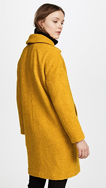Madewell Double Breasted Boucle Coat
