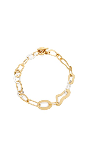 Madewell Abstract Link Necklace