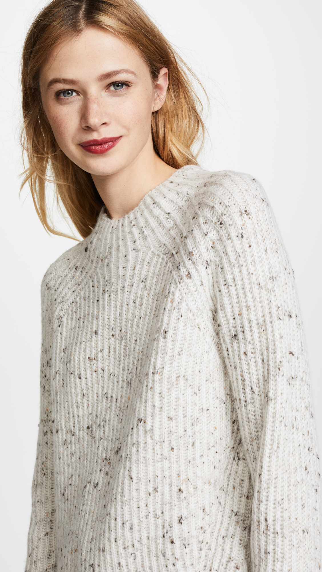c700914323c Madewell Donegal Karen Mock Neck Sweater