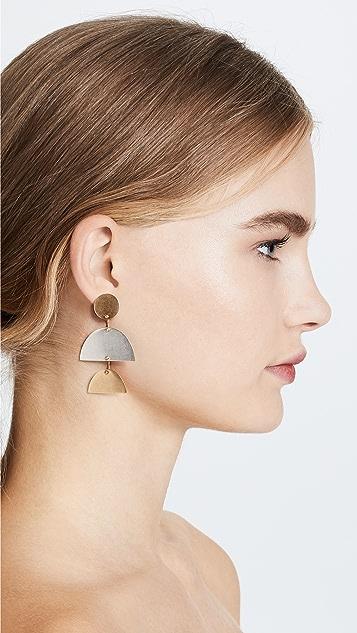 Madewell Sculpture Statement Earrings