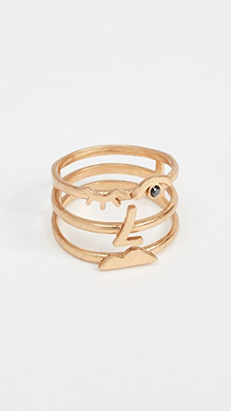 Madewell Face Stacking Ring