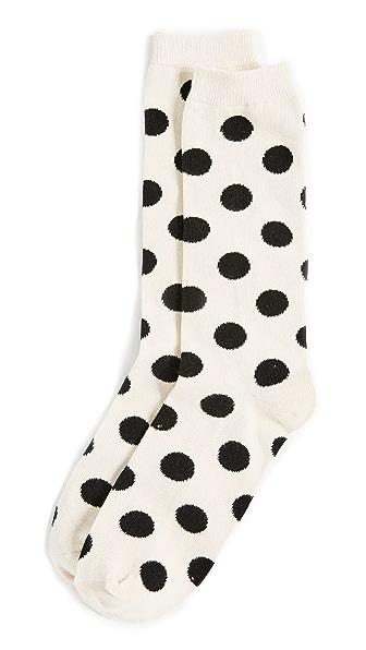 Madewell Dot Trouser Socks