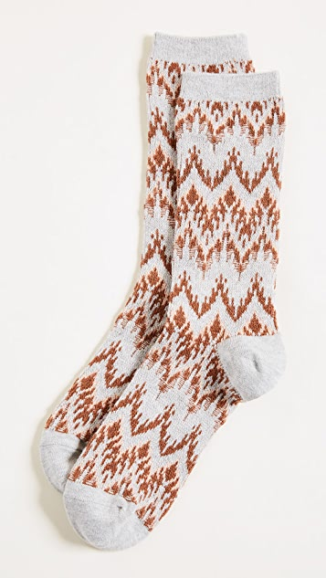 Madewell Chevron Trouser Socks