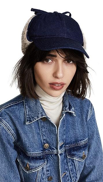 Madewell Baseball Trapper Hat