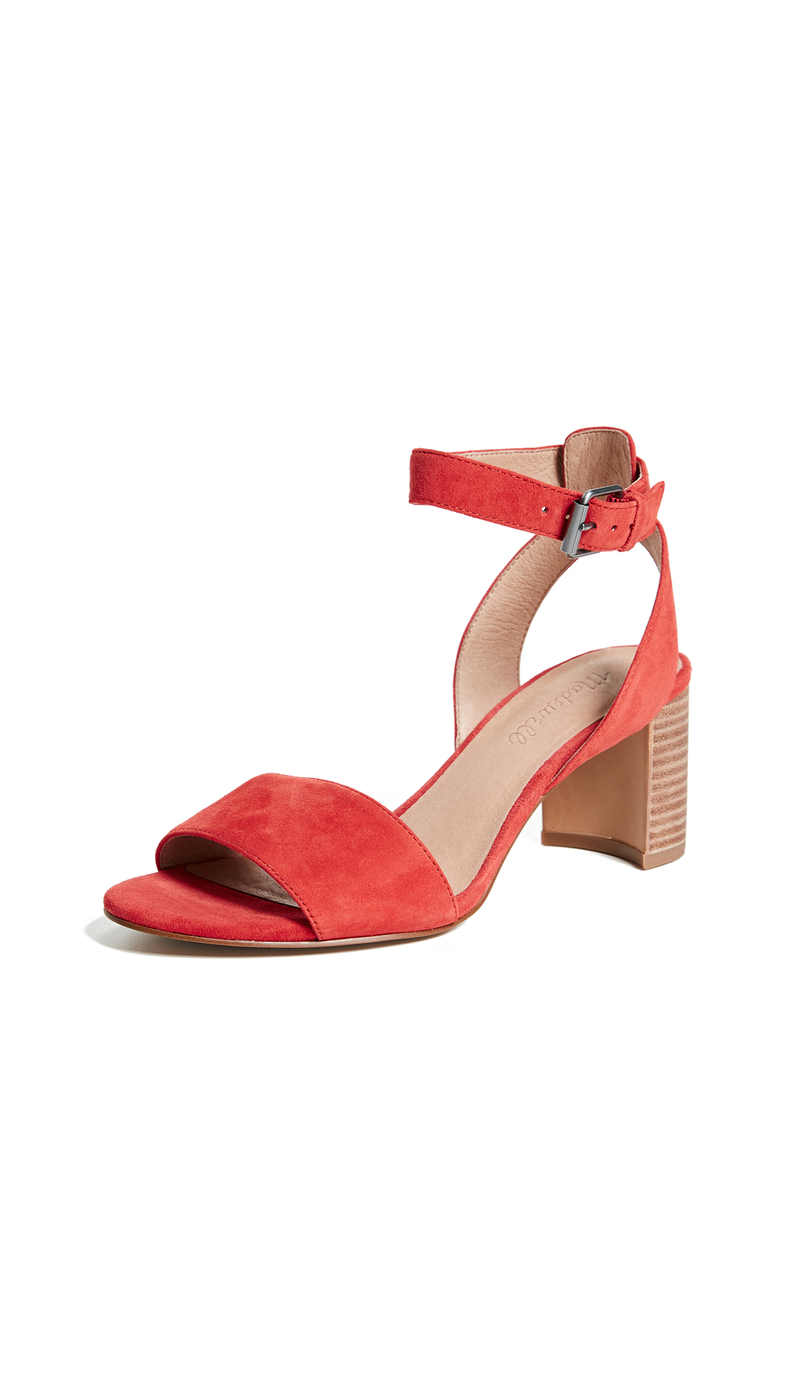 Madewell Bridget Sandals - Siberian Red