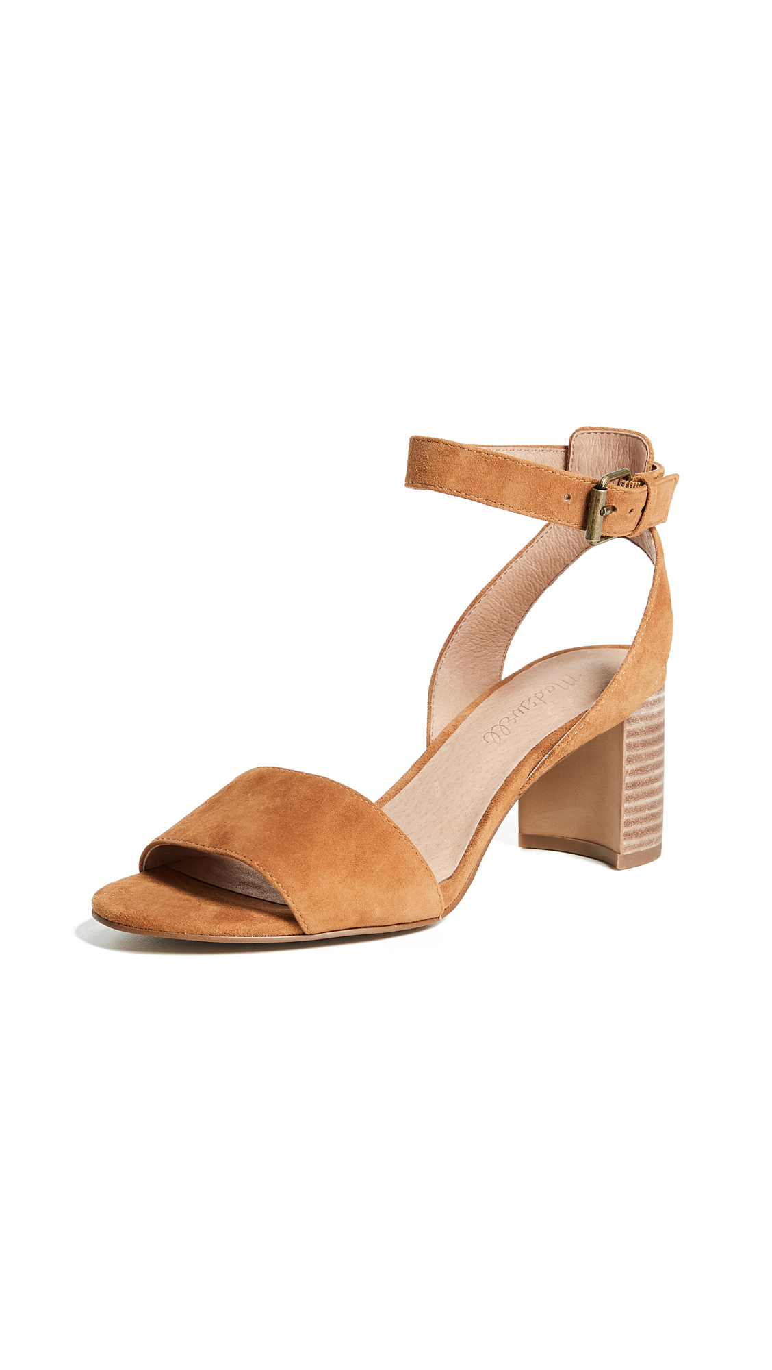 Madewell Bridget Sandals - Amber Brown