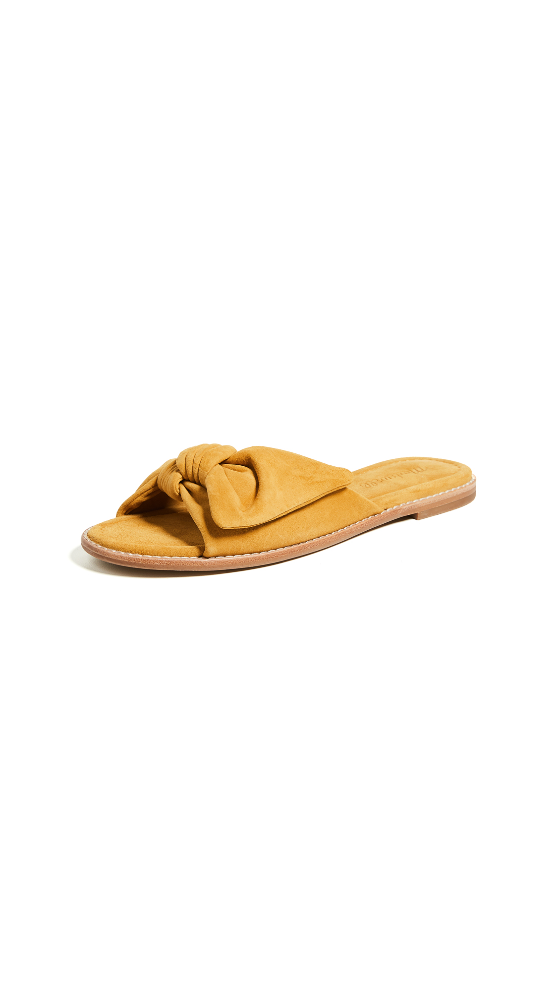 Madewell Jaclyn Half Bow Sandals - Cider
