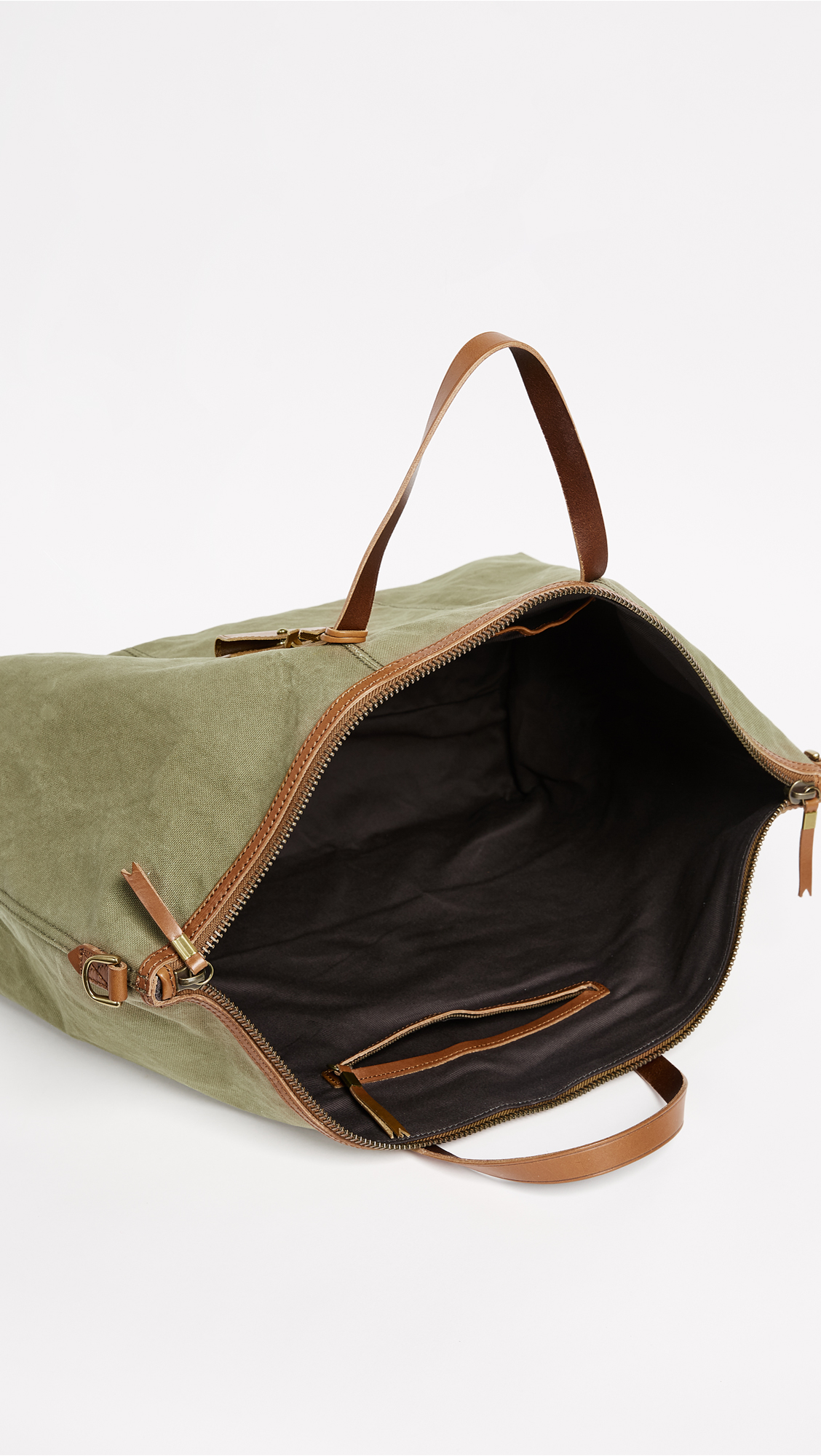 b4d284882 Madewell The Transport Weekender in Canvas | SHOPBOP