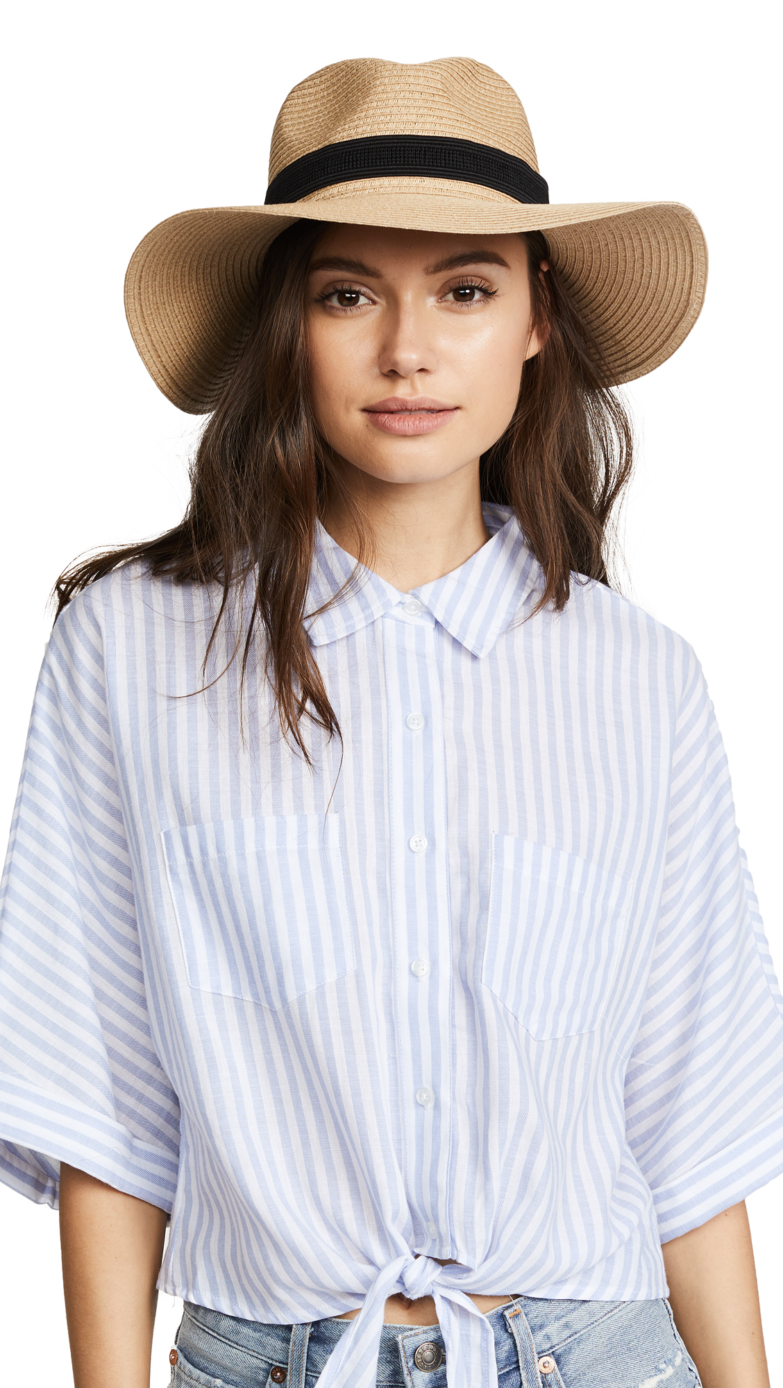 5e9e2d4be0f45 Madewell Packable Mesa Straw Hat In Natural Straw