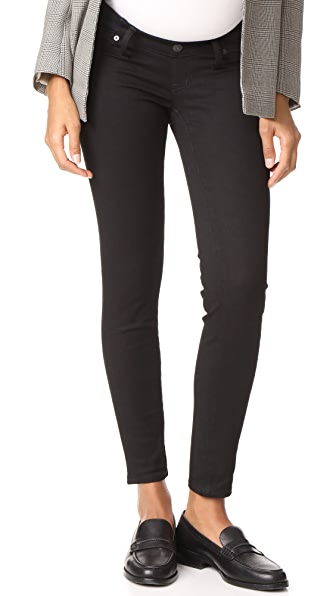 MADEWELL Roadtripper Skinny Jeans in Black Frost