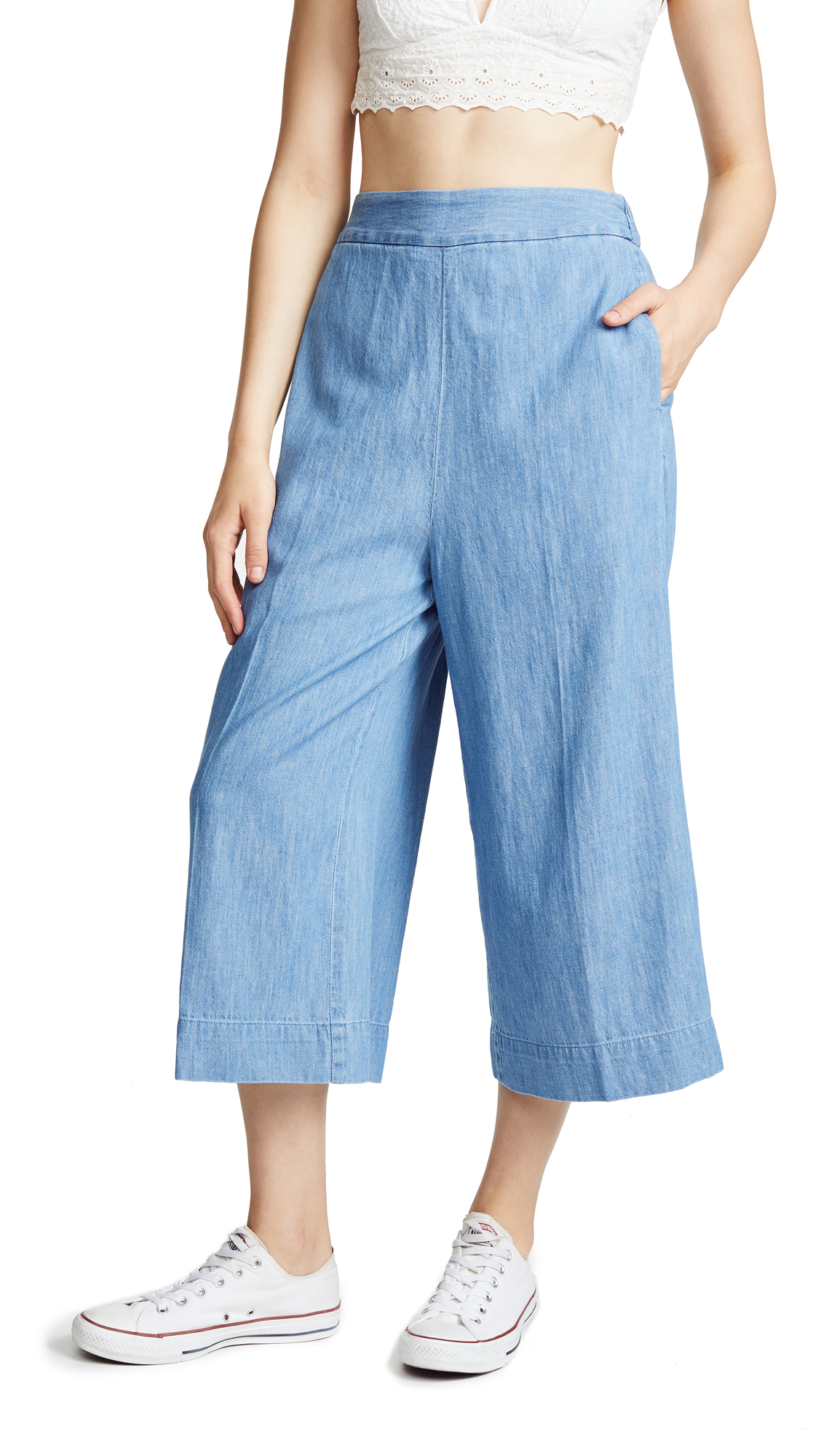 b1c9f25c61 Madewell Huston Crop Pants