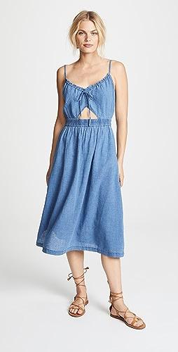 96f2c9a5fe Madewell Indigo Cutout Cami Dress