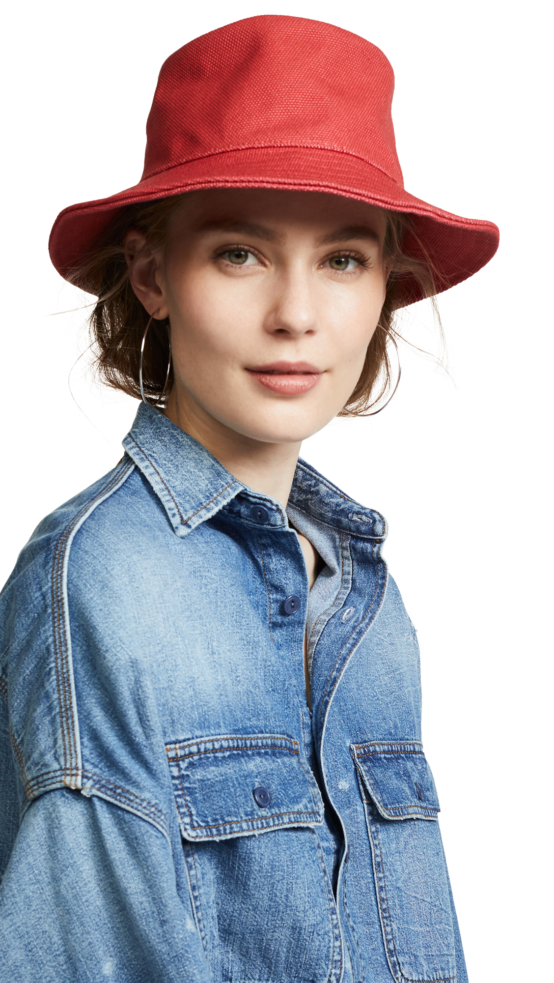 f5f522c1c248b5 Madewell Short-Brimmed Canvas Bucket Hat | SHOPBOP