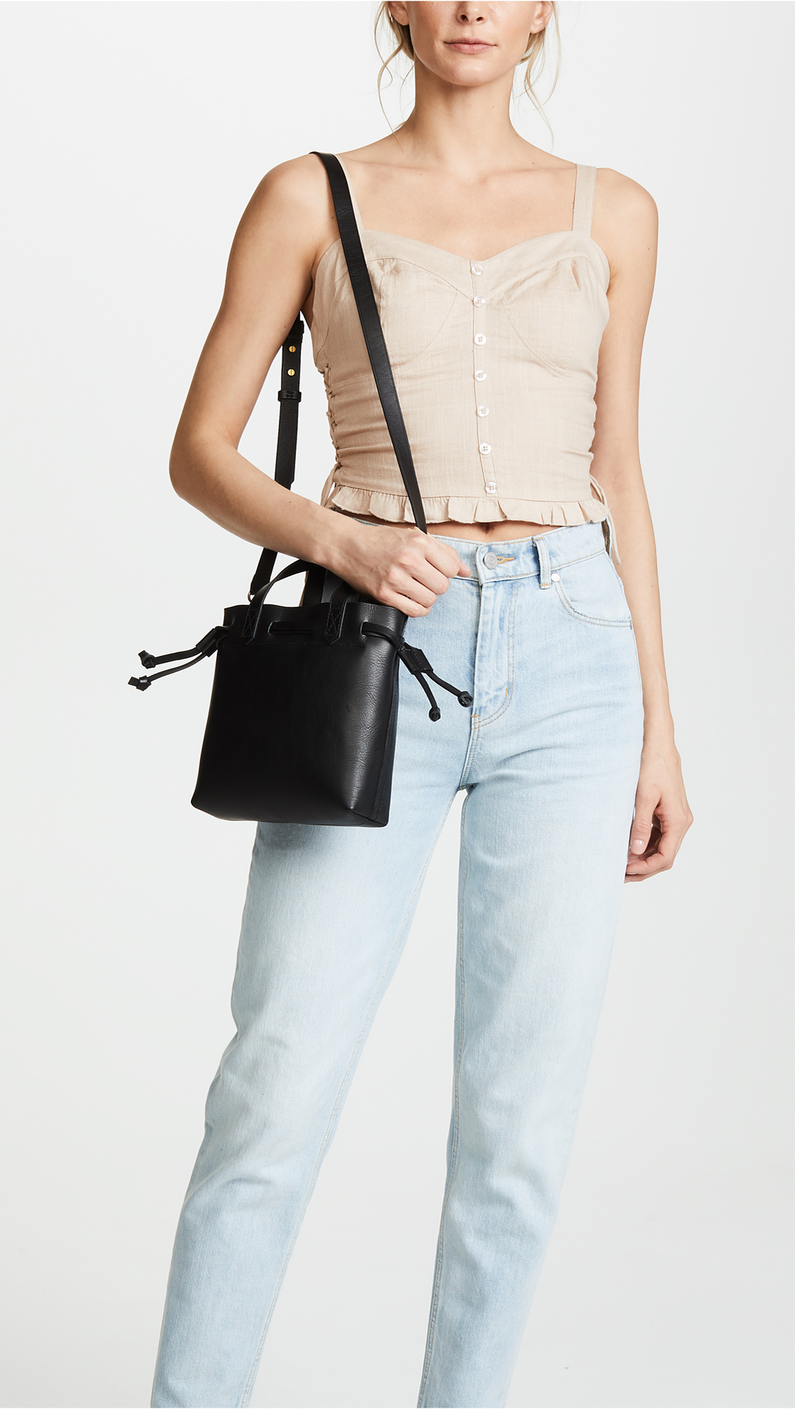 720af2411 Madewell Mini Pocket Transport Tote Drawcord | SHOPBOP