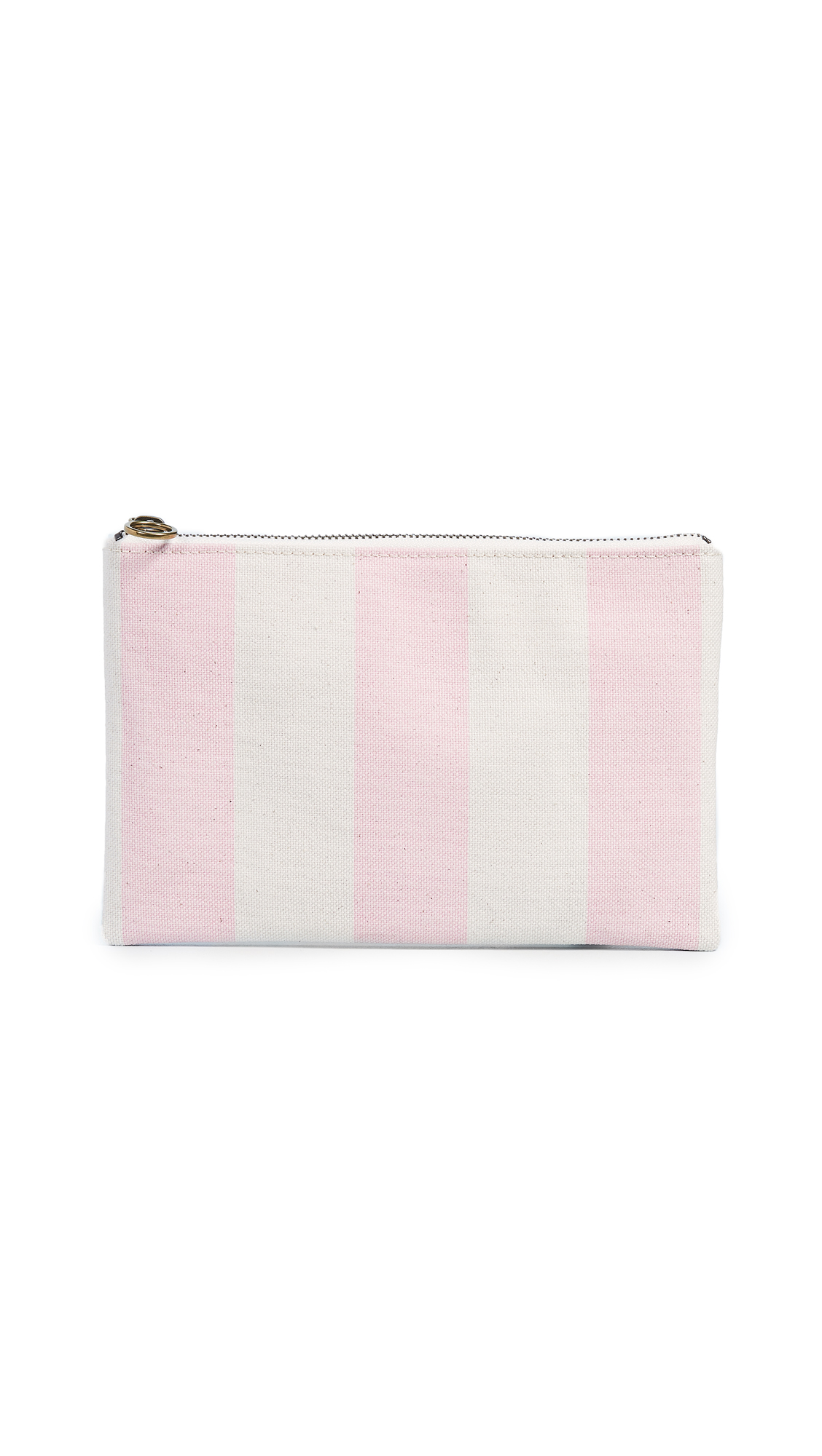 CANVAS STRIPES FLAT POUCH from Shopbop