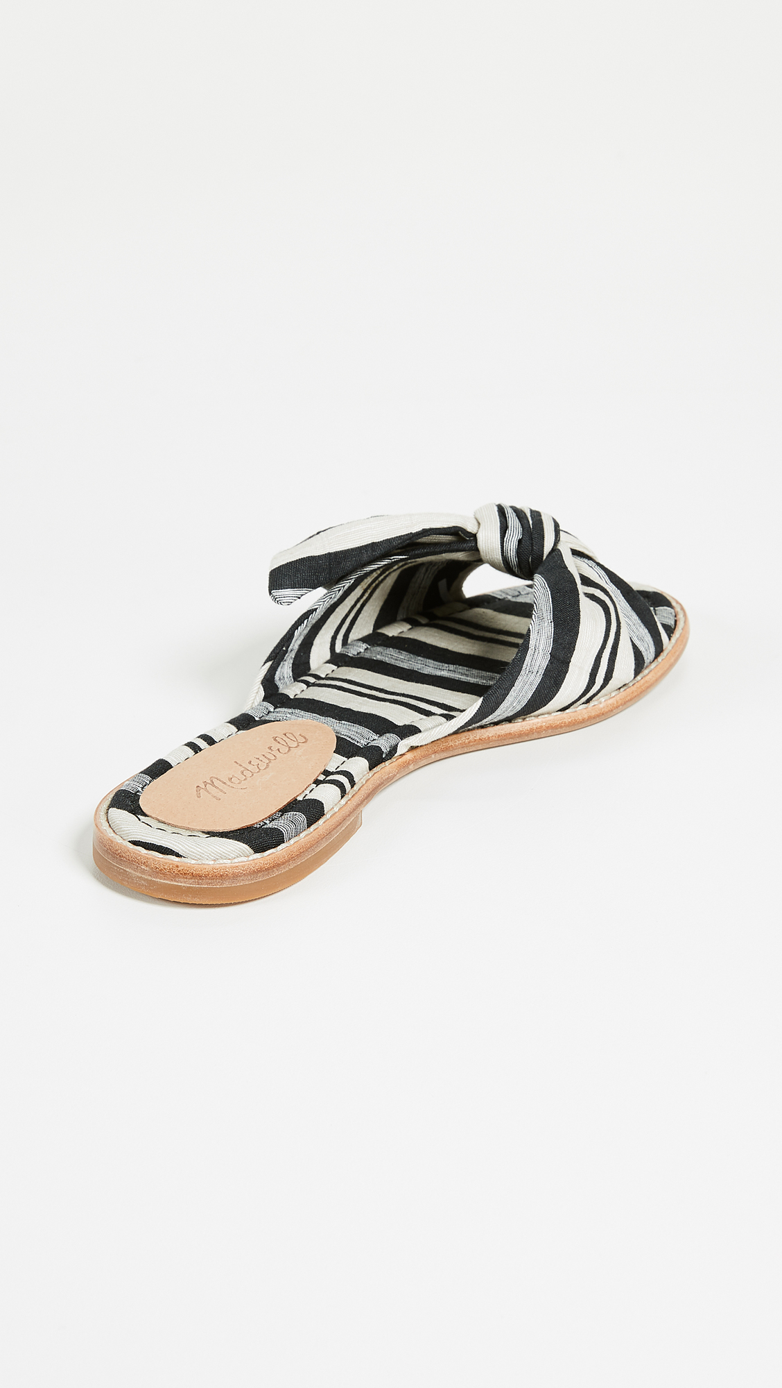 7e2b3c031f447 Madewell The Naida Half Bow Sandals