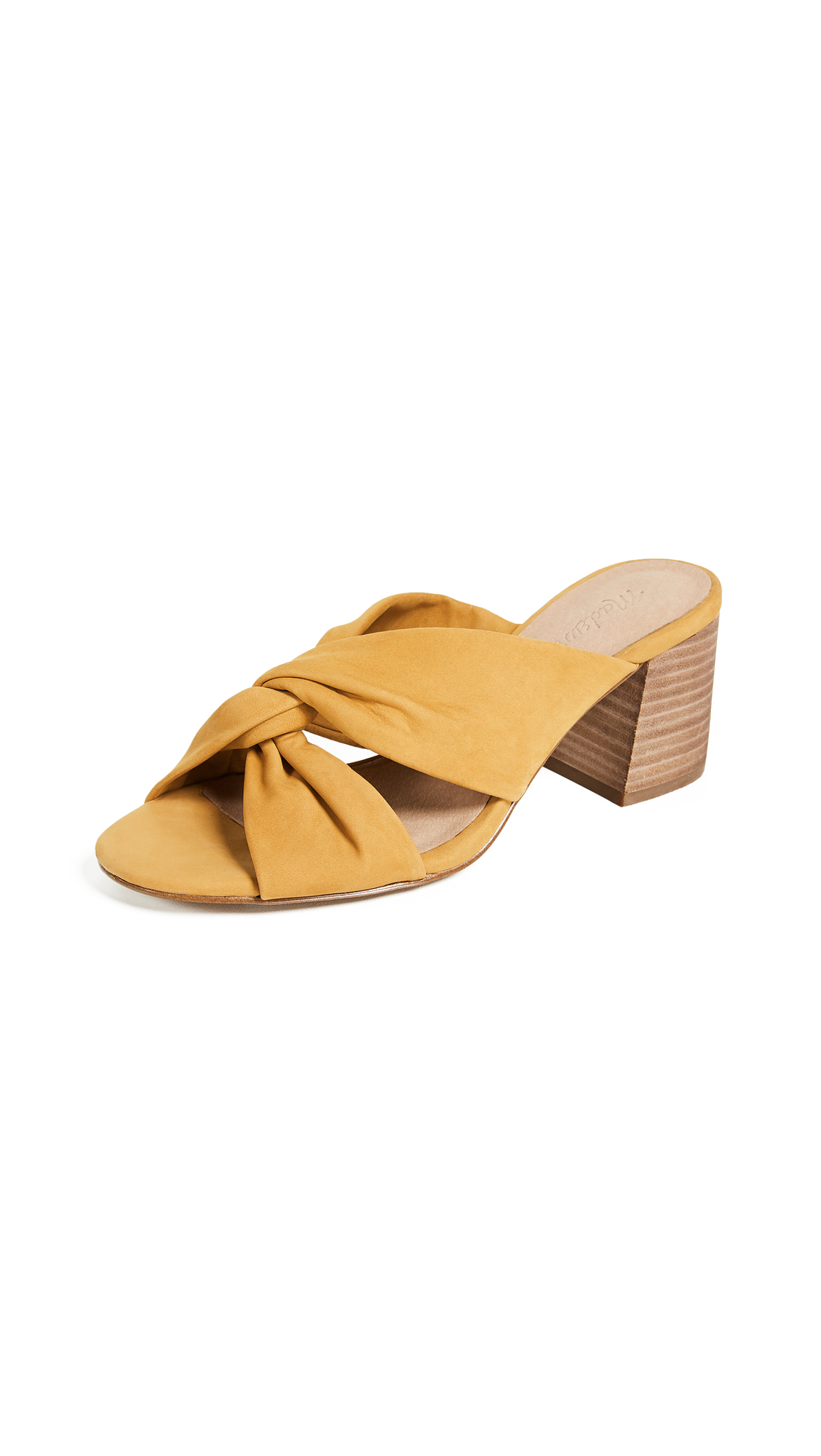 Madewell The Sari Crisscross Sandals - Cider