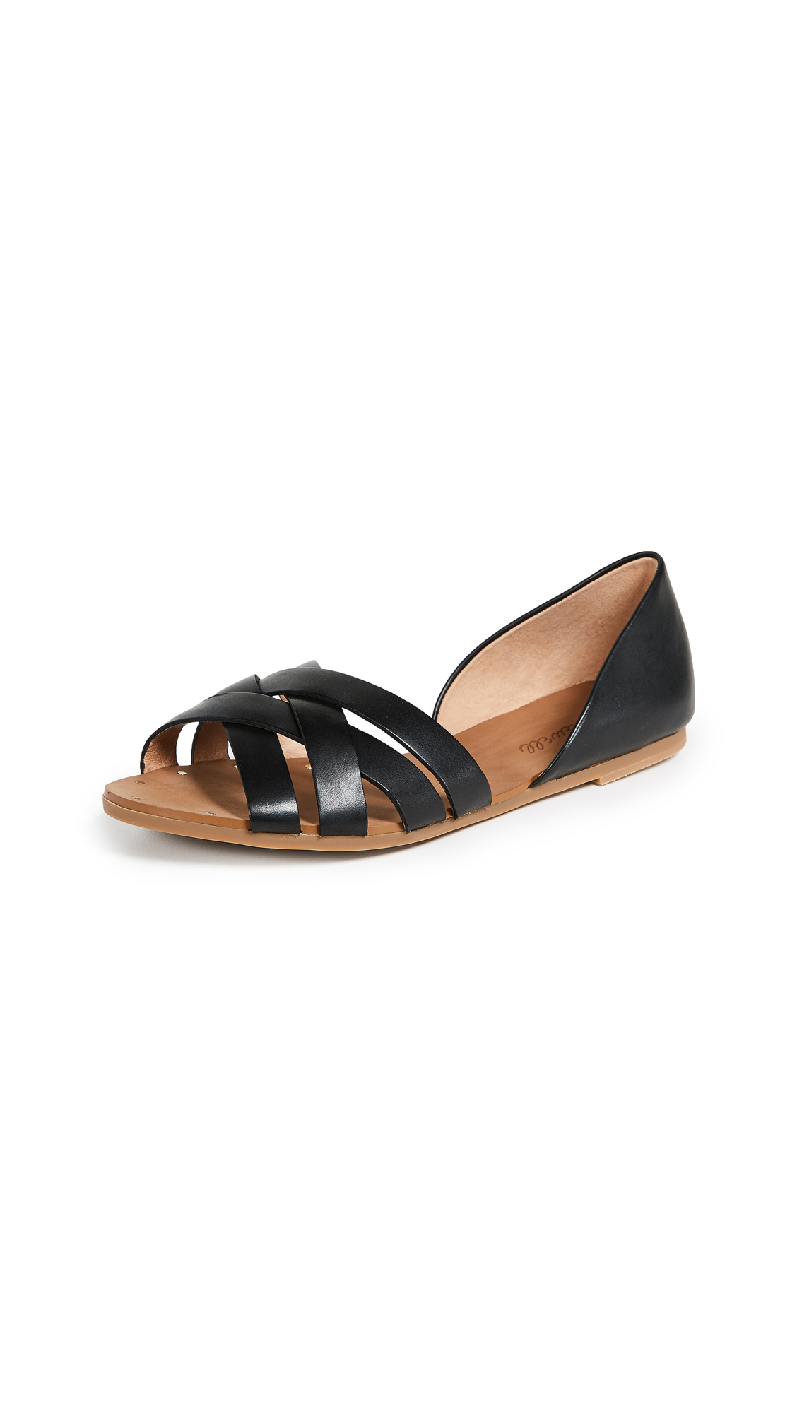 Madewell The Donovan Sandals - True Black