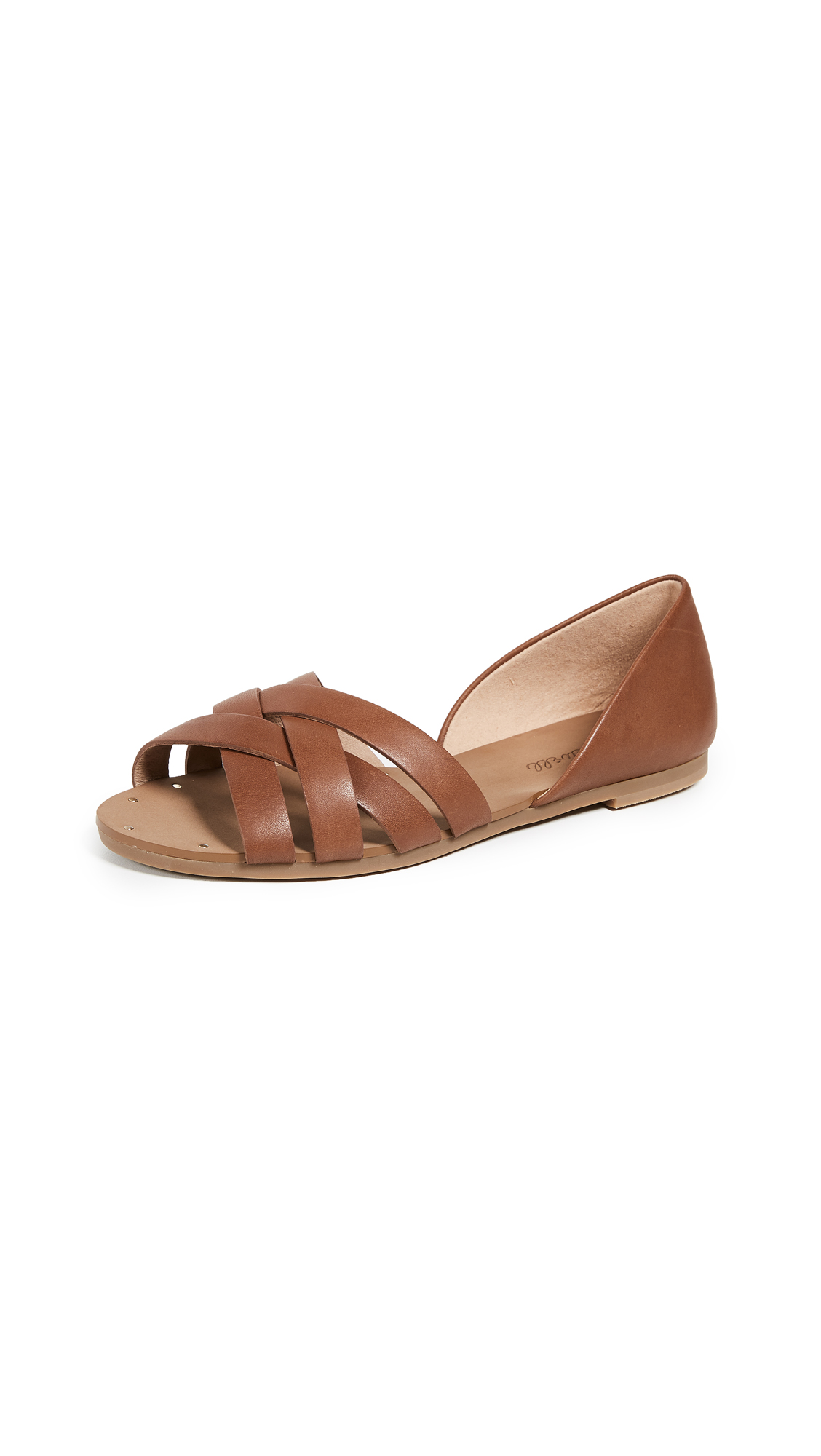 Madewell The Donovan Sandals - English Saddle