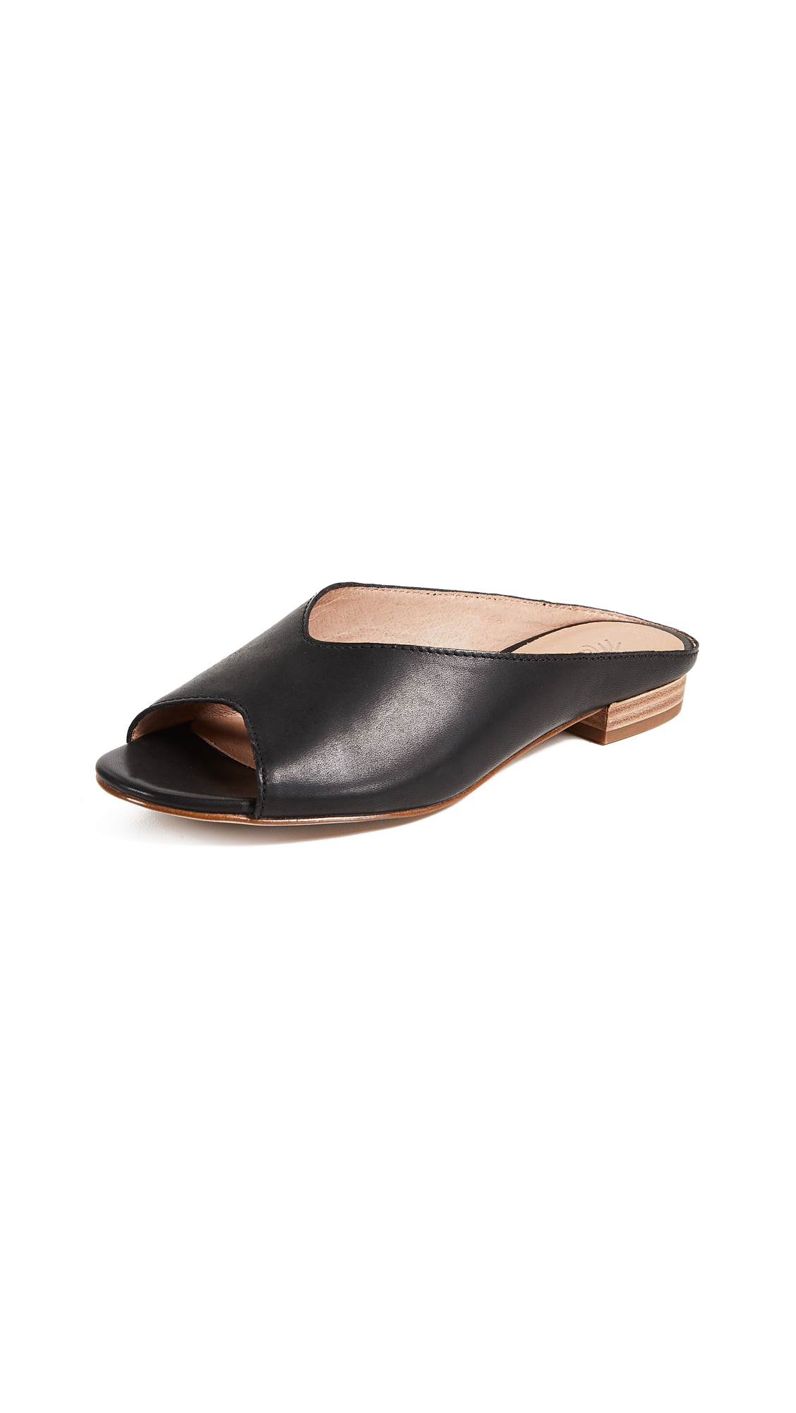 Madewell The Tavi Slides - True Black