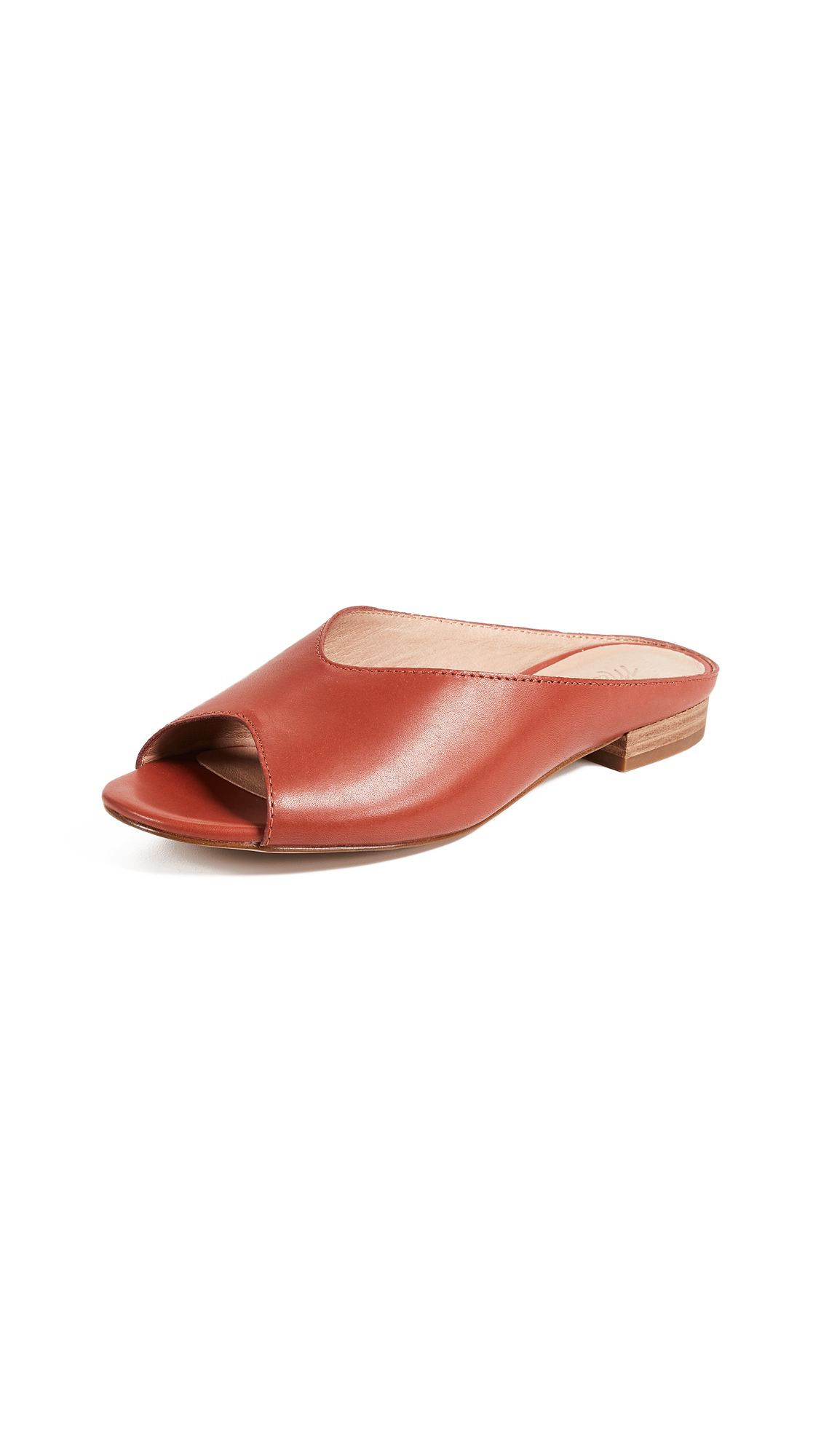 Madewell The Tavi Slides - Cinnabar