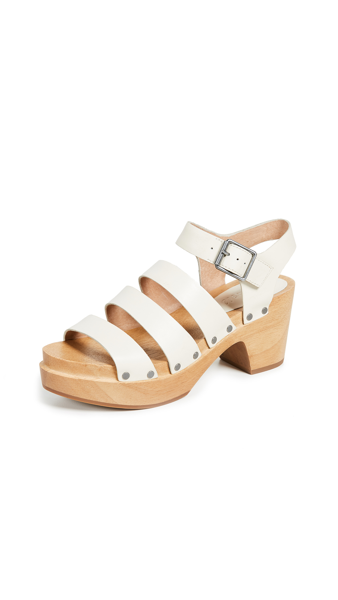 Madewell The Sigrid Clog Sandals