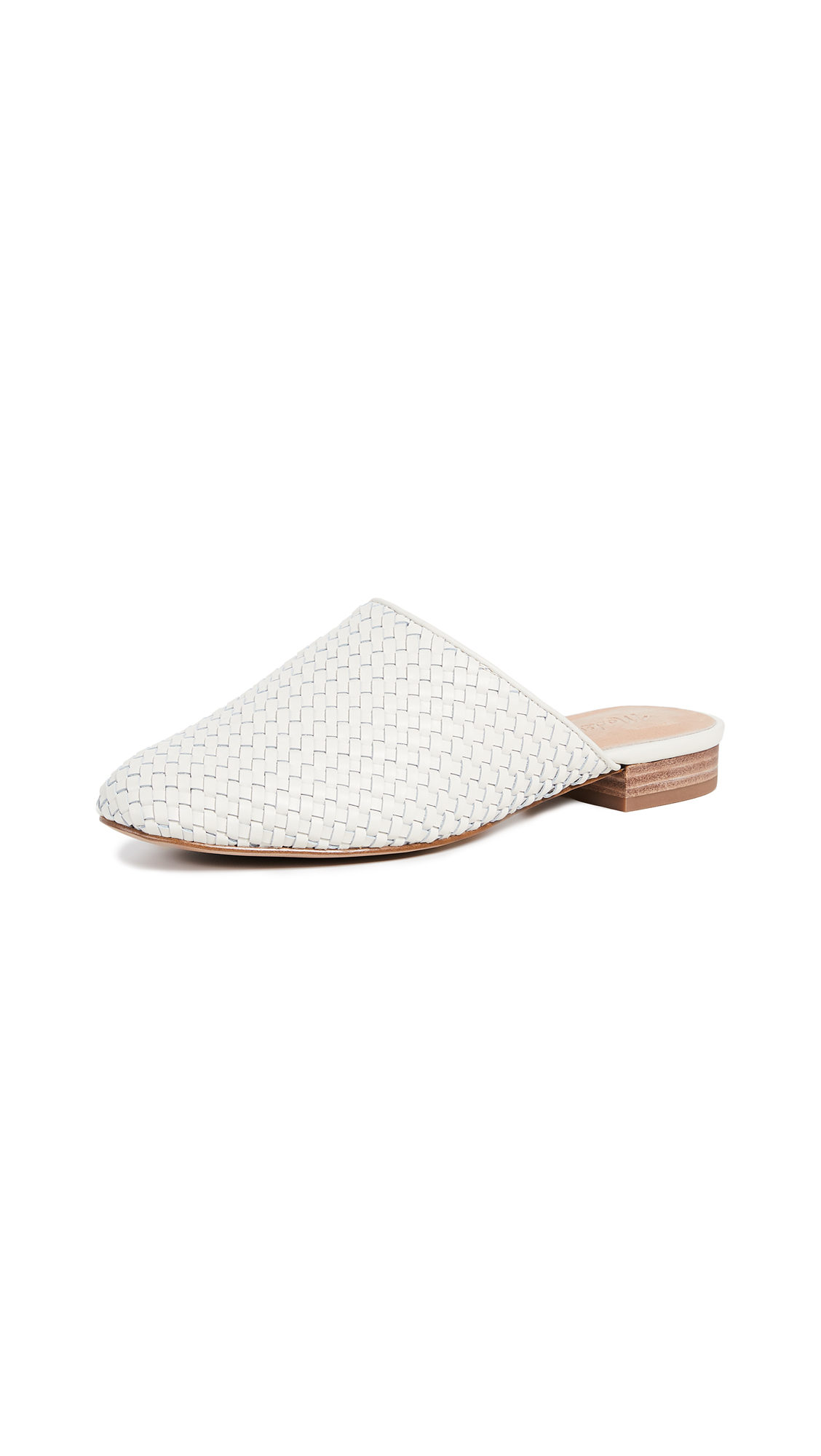 Madewell The Cassidy Woven Mules - Vintage Canvas