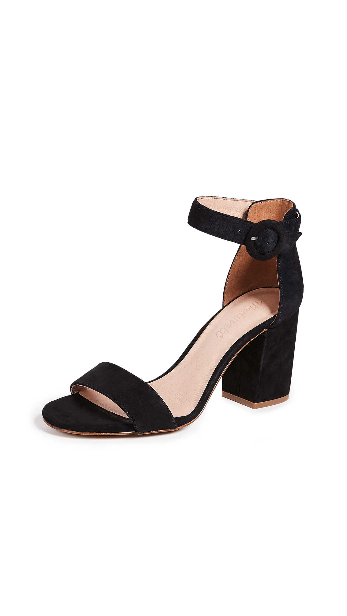 Madewell The Regina Ankle-Strap Sandals