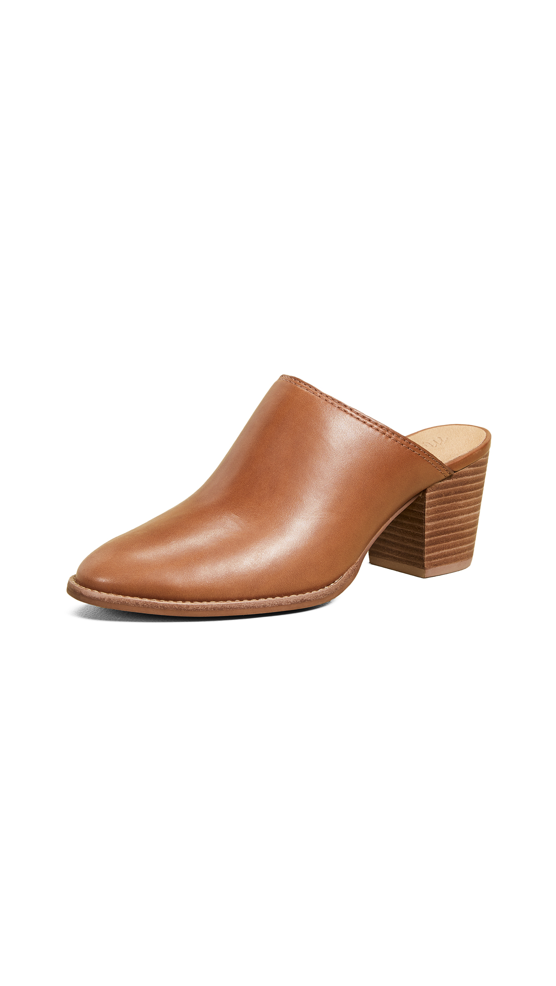 Madewell The Harper Mules - English Saddle