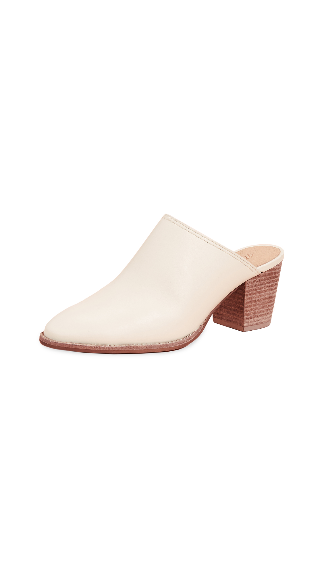 Madewell The Harper Mules - Vintage Canvas