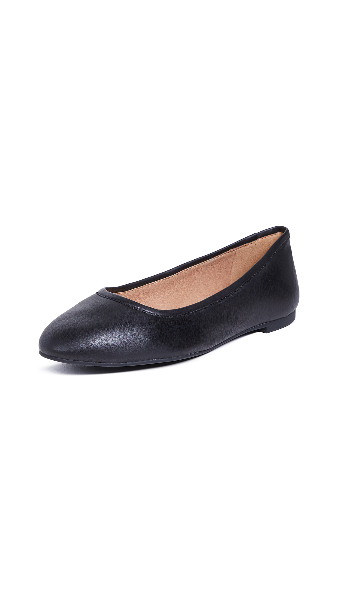 Madewell The Reid Ballet Flats - True Black