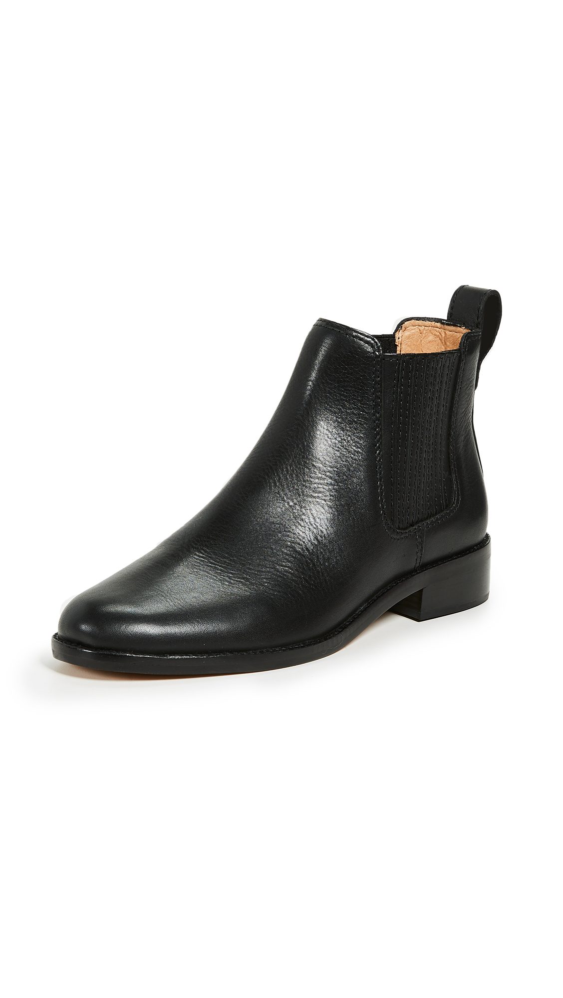 Madewell The Ainsley Chelsea Boots - True Black