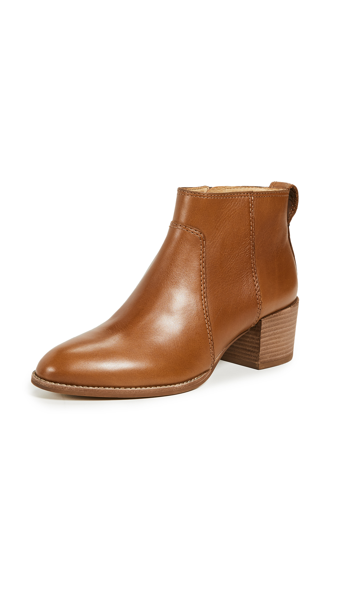 Madewell The Asher Boot - English Saddle