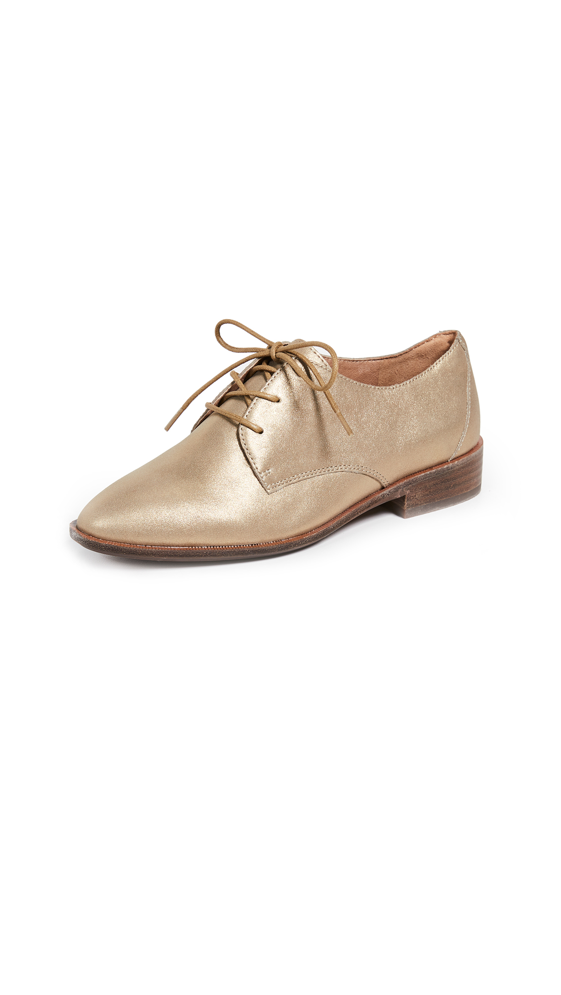 Madewell Pauline Oxfords - Olive Bronze