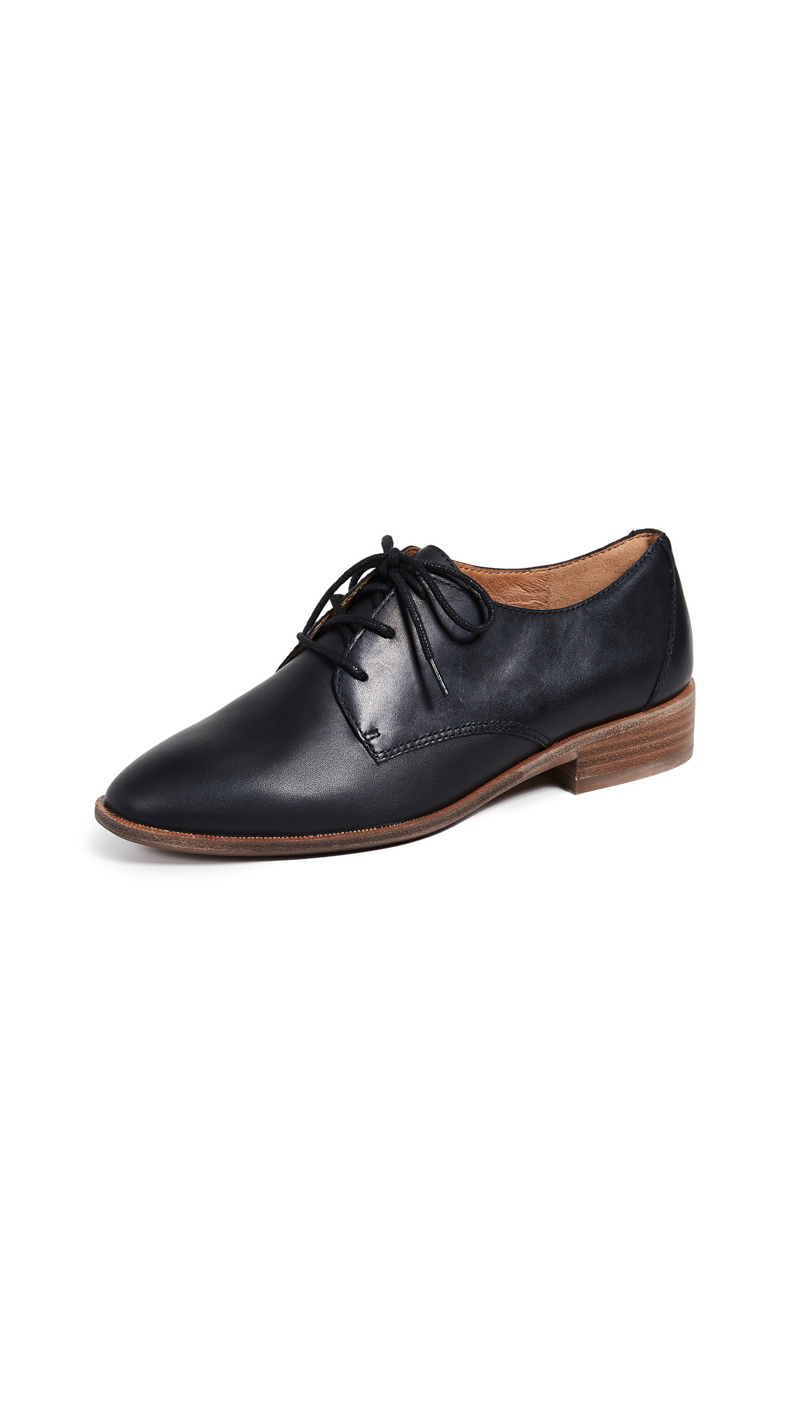 Madewell Pauline Oxfords - True Black
