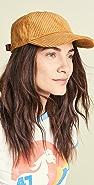 Madewell 灯芯绒棒球帽