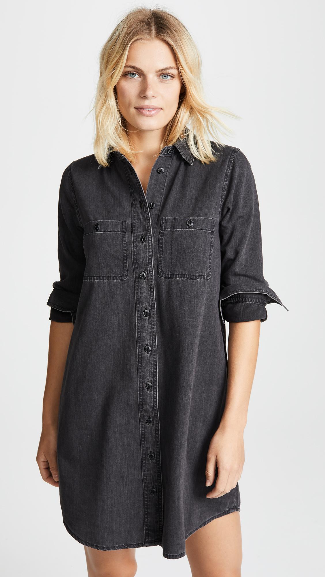 2c82310e6fb Madewell Long Sleeve Denim Shirt Dress - Gomes Weine AG