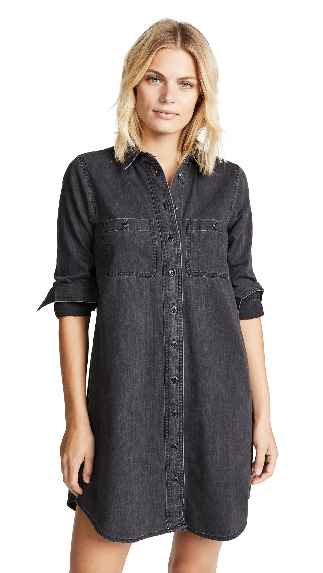 Buy Madewell Black Denim Shirtdress online beautiful Madewell Clothing, Dresses