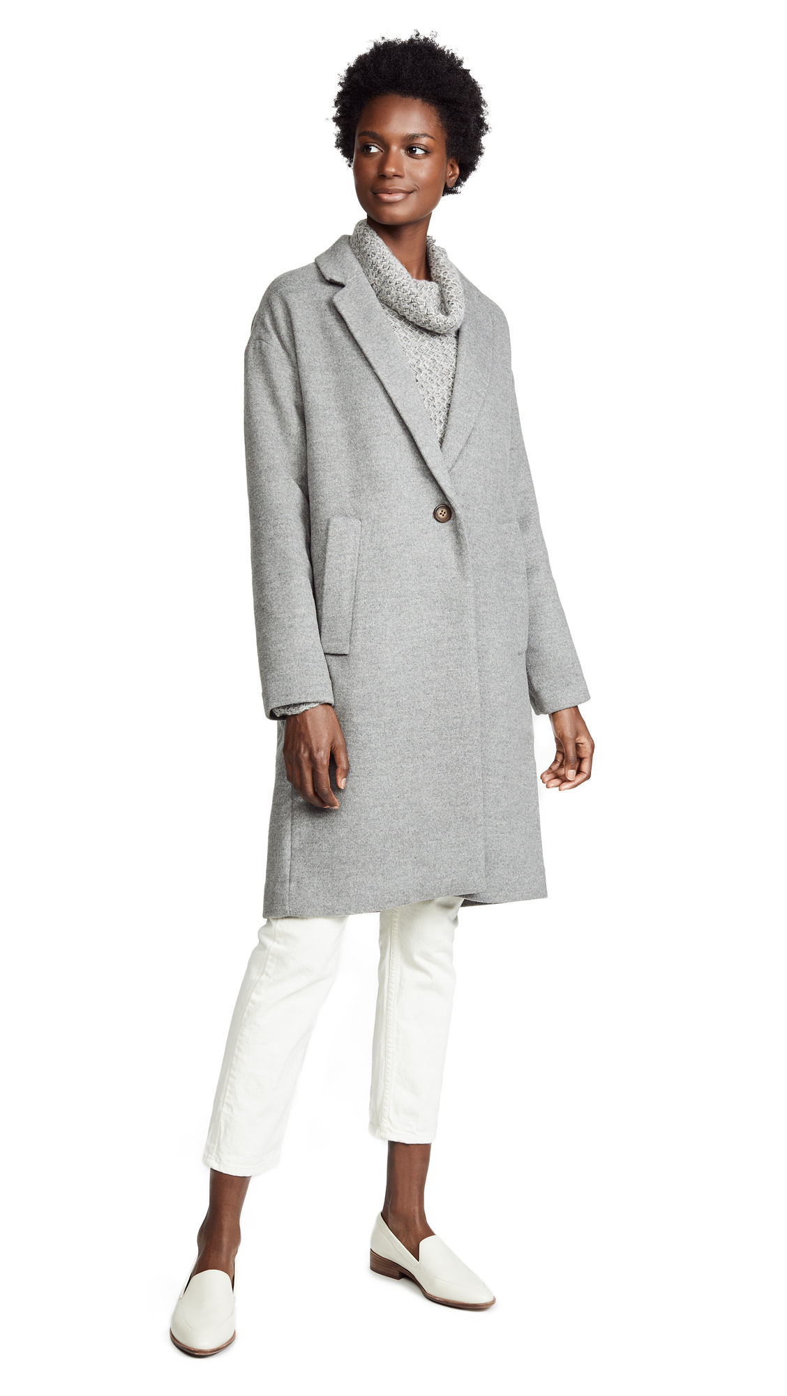 Madewell Solid Monsieur Coat