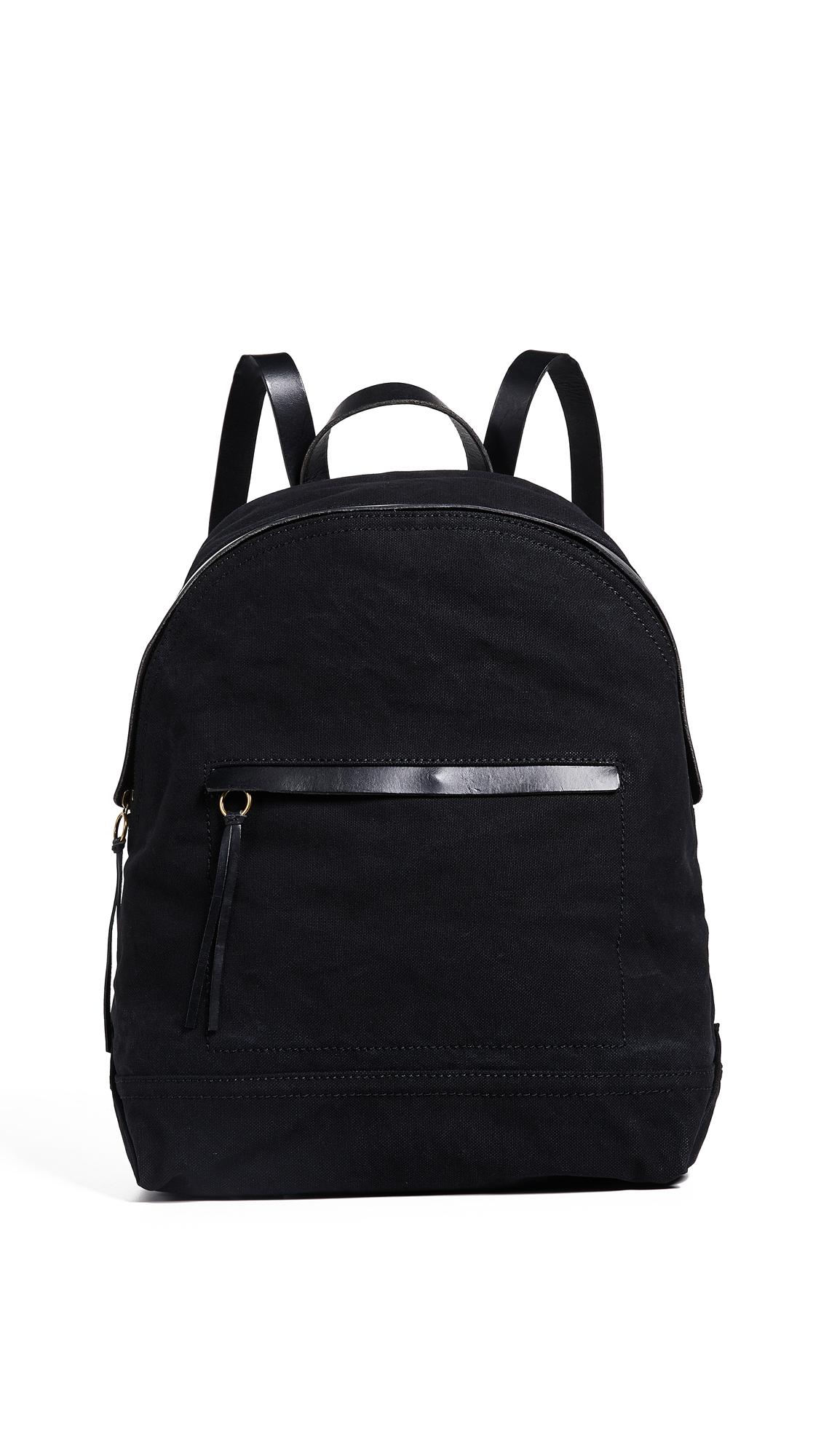 Madewell Classic Canvas Backpack - True Black