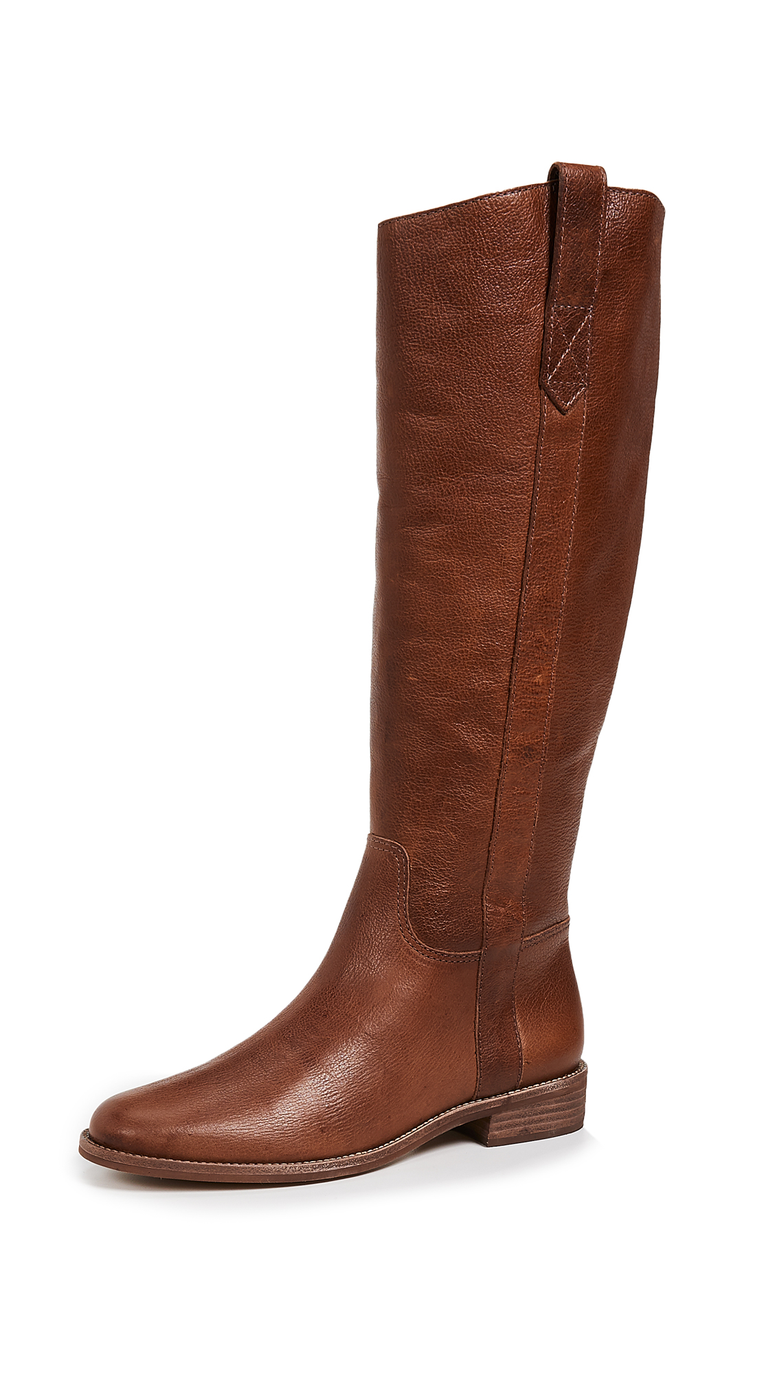Madewell The Winslow Knee High Boots - English Saddle