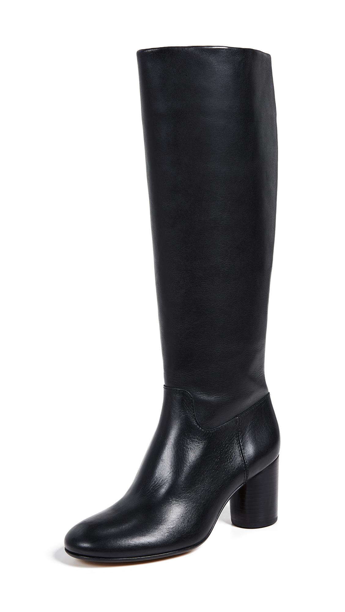Madewell The Scarlett Tall Boots - True Black