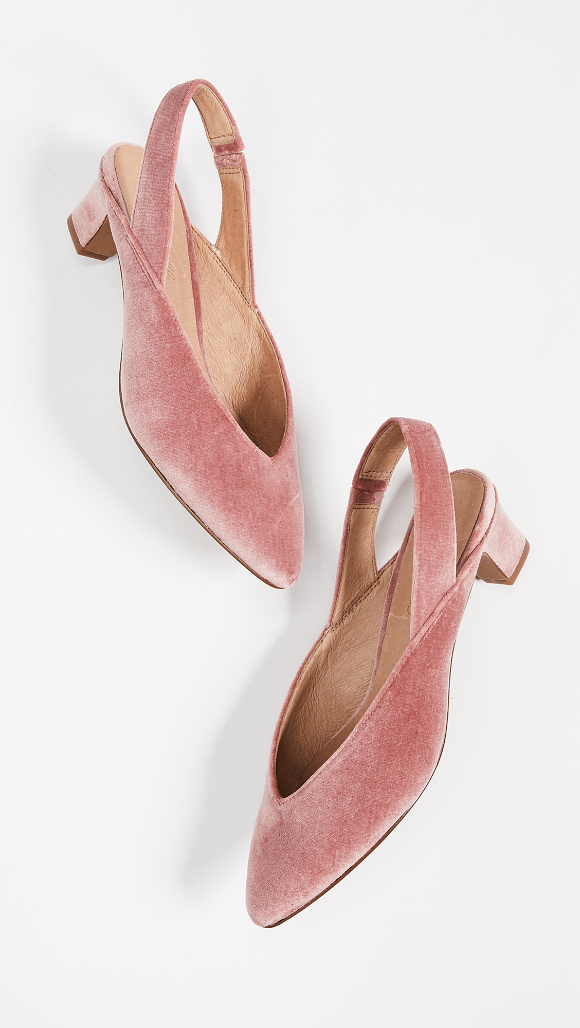 932643a7087 Madewell The Etta Slingback Pumps