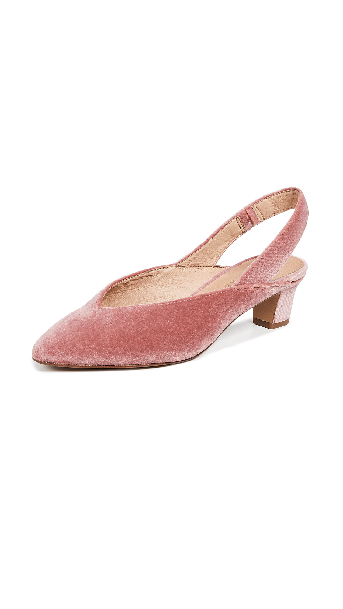 Madewell The Etta Slingback Pumps - Autumn Berry