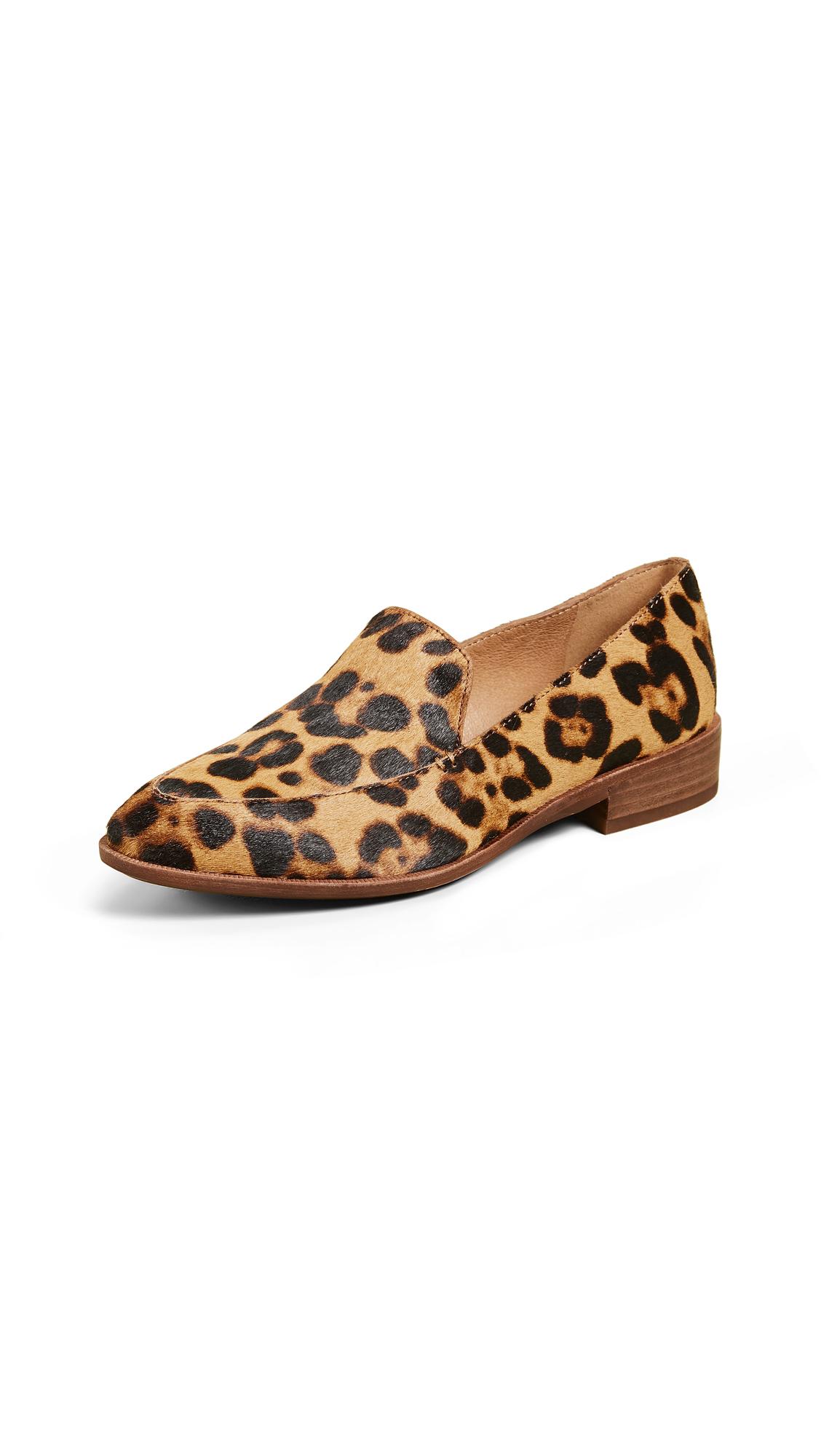 Madewell Frances Leopard Loafers - Truffle Multi