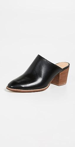 c8c134ef814 Madewell Harper Block Heel Mules