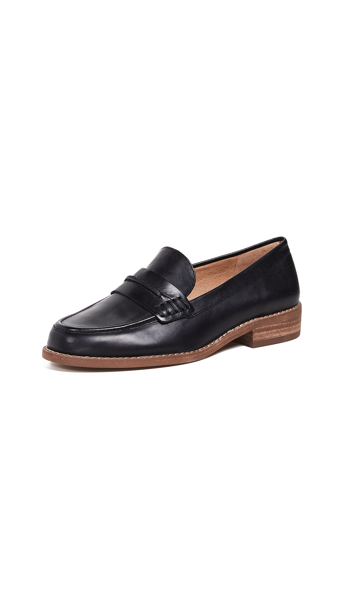 Madewell The Elinor Loafers - True Black