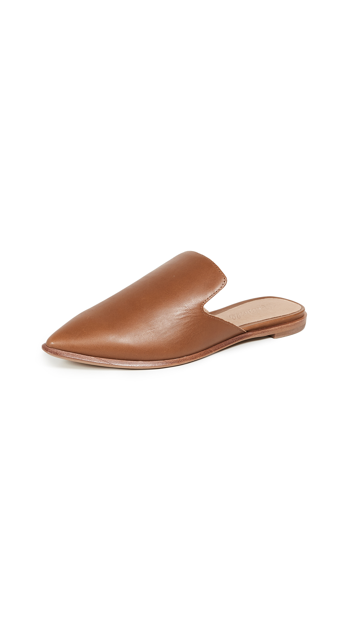 Madewell Gemma Mules - English Saddle