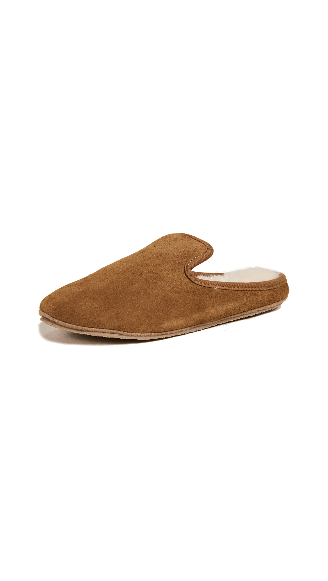 Madewell Scuff Loafer Slippers - Timber Beam